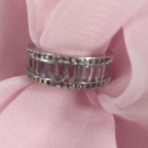 Jewelry - WHITE SAPPHIRE PRINCESS RING